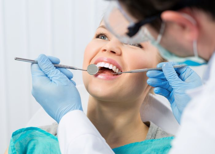 teeth cleaning dentist troy mi